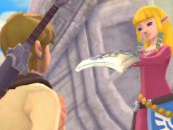 A screenshot from 'The Legend of Zelda: Skyward Sword.'