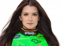There's more to Go Daddy than meets the eye. Here, Danica Patrick in her Go Daddy gear.