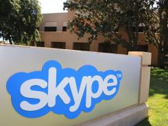 The Skype offices in Palo Alto, Calif.
