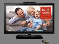 Use Biscotti to turn your high-definition TV into a high-def video phone.