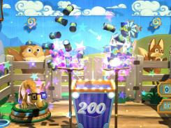 'Carnival Island' uses PlayStation's Eye camera.