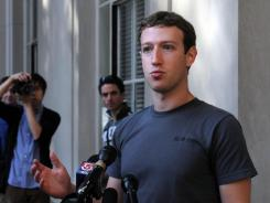 "Facebook CEO Mark Zuckerberg said he is ""first to admit that (Facebook) made a bunch of mistakes."""