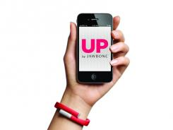 Jawbone's Up band costs $100 and can help  you live a more healthful life.