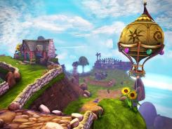A screenshot from 'Skylanders Spyro's Adventure.'