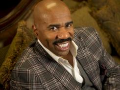 Radio talk show host and author Steve Harvey.