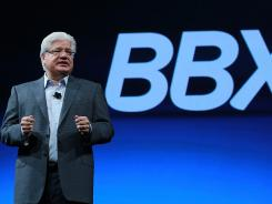 RIM President and co-CEO Mike Lazaridis talking about BBX in October.