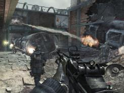A screen shot from the video game 'Call of Duty: Modern Warfare 3'.
