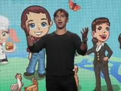 Zynga CEO Mark Pincus speaks at a recent Zynga event in San Francisco.