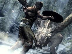 A team of 40 artists created  'The Elder Scrolls V: Skyrim,'  USA TODAY's No. 1 game of 2011.