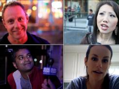 Clockwise from top left: Jay Lovell, Christine Chang, Brooke Fedro, Nitanth Vangala.
