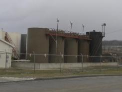 This photo, taken Monday, shows the site of a brine injection well owned by Northstar Disposal Services in Youngstown, Ohio.