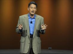 Sony executive Kaz Hirai.