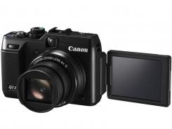 The Canon G1X, aimed at advanced amateurs.