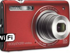 Kodak's new Easyshare Wireless camera.