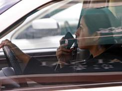 Applications that prevent people from using their phones while a vehicle is moving are gaining popularity.