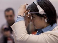 Haier is selling the  Brain Wave TV headset  in China, but has no plans to bring it to market in the U.S.