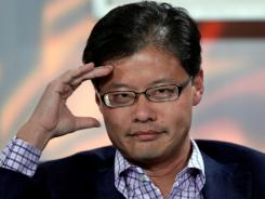 Jerry Yang, then CEO of Yahoo, at the Web 2.0 Summit in San Francisco in November 2008.