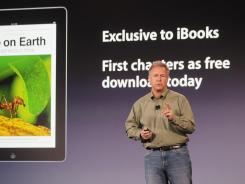 Apple executive Philip Schiller speaks about Apple's plan to 'reinvent' textbooks.