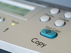 It's important to wipe your copier's memory before donating.
