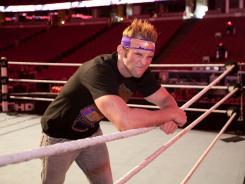 WWE wrestler Zack Ryder.