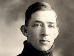 A picture of Joe McDonald from his days at the University of Nevada in the early 20th century.