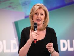 President and editor-in-chief of The Huffington Post Media Group Arianna Huffington speaks at the Digital Life Design conference in January.