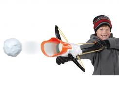 Make three snowballs at a time and hurl them at enemies with the Crossbow Snow Launcher.