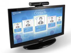 Tely Labs' telyHD can turn an HDTV into a video phone.