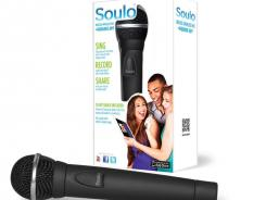 The Soulo wireless mic and app retails for $99.