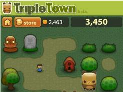 'Triple Town' is one of the best free games on Google+ and Facebook.