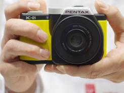 The Marc Newson-designed Pentax K-01.