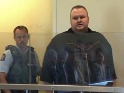 Megaupload founder Kim Dotcom at a January court hearing in New Zealand.