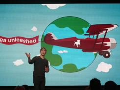Zynga CEO Mark Pincus speaks at an event in San Francisco.