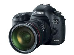 The new Canon 5D Mark III.