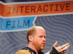 "Producer/Director/Writer Joss Whedon speaks at the ""A Conversation with Joss Whedon"" panel at South by Southwest."