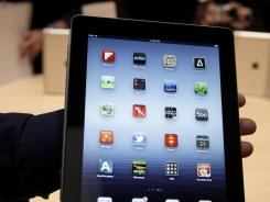 People who order the new iPad now won't get it for another two to three weeks.