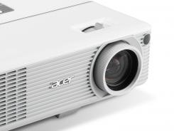 The Acer H6500 can project 24 frames a second in high definition onto a 300-inch space.