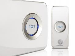 The MP3 DJ Doorbell costs about $50.
