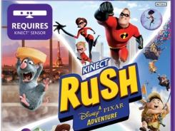 Kids pair up with their favorite movie characters in 'Kinect Rush: A Disney Pixar Adventure.'