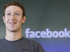 "Facebook CEO Mark Zuckerberg attends a meeting in San Francisco last October. Attorneys for Facebook sought the dismissal of what they called an ""opportunistic and fraudulent"" lawsuit by a New York man claiming half-ownership of the social networking site."