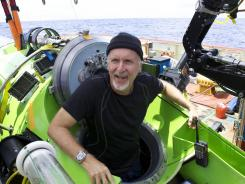 What did James Cameron see 11 km under?