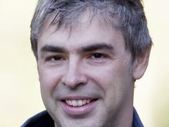 Google co-founder and current CEO Larry Page.
