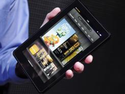 Amazon's Kindle Fire.
