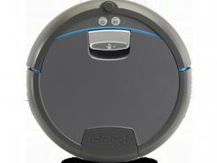 The Scooba mopping robot.