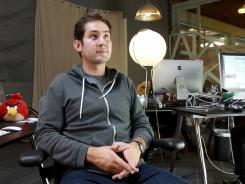 CEO and co-founder of Instagram, Kevin Systrom.