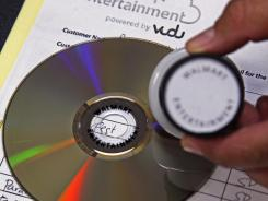 An indelible ink stamp is put on all converted discs, allowing them to be played but not digitally copied.