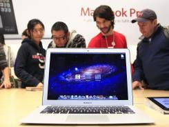 A Macbook Air.