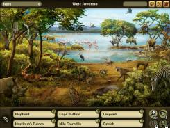 In the 'Disney Animal Kingdom Explorers' Facebook game, players scour photo-realistic scenes to find camouflaged animals and build their own nature preserve while learning about conservation issues.