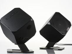 Cubik speakers look and sound good. They sell for about $200.
