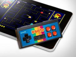 The iCade 8-Bitty works with iOS and Android devices.